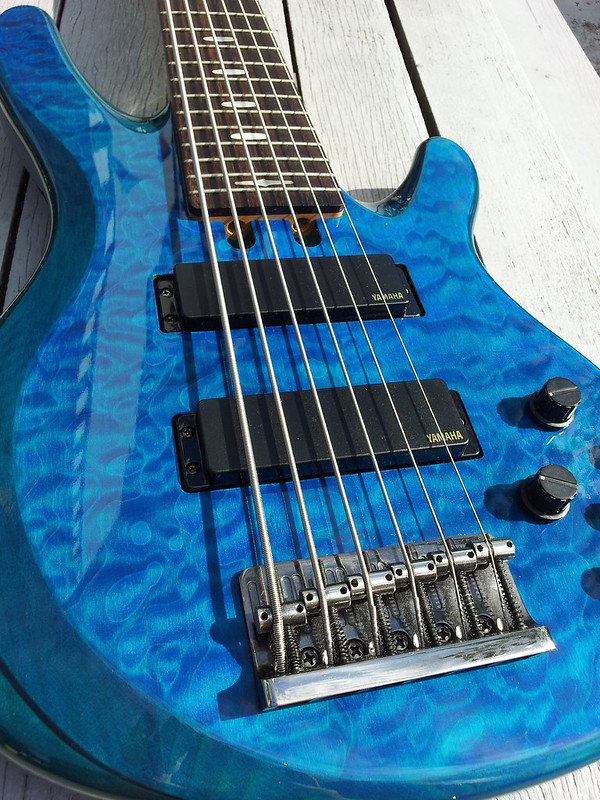 Price reduced yamaha rbx 774 strings and 1006 limited for Yamaha 6 string bass