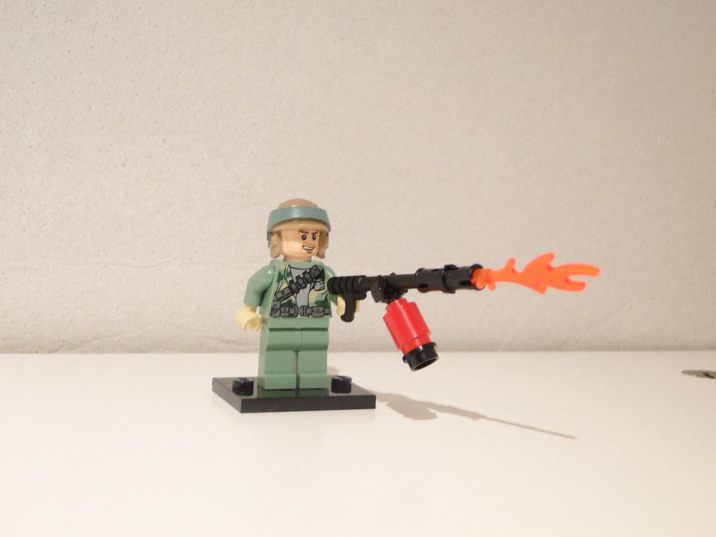 LEGO Flamethrower tube | lingonils | Flickr Lego