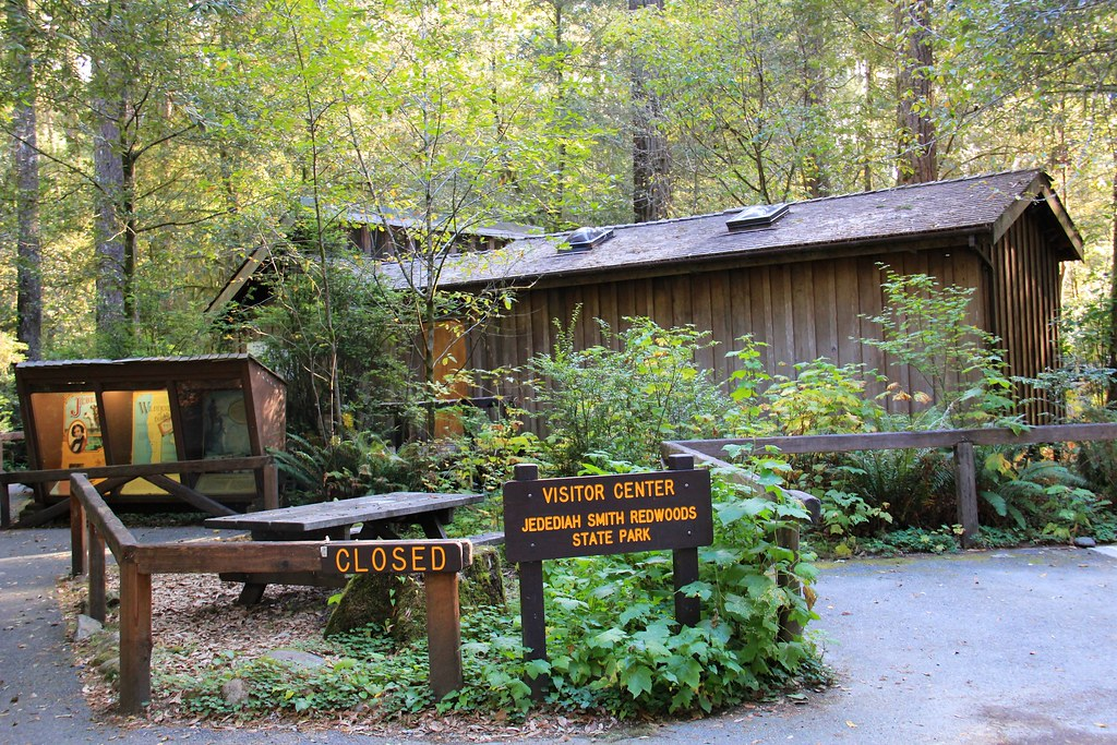 Sorry Visitor Center S Closed Jedediah Smith Redwoods