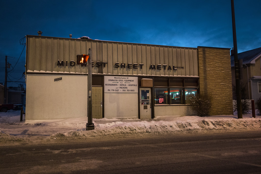 Midwest Sheet Metal Logan Avenue Winnipeg Manitoba