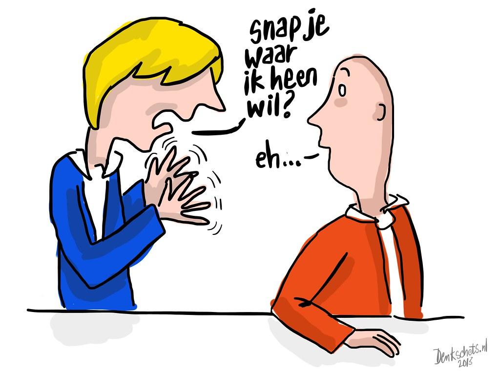 Communicatie (Dutch) | Illustratie op verzoek voor hoger ...