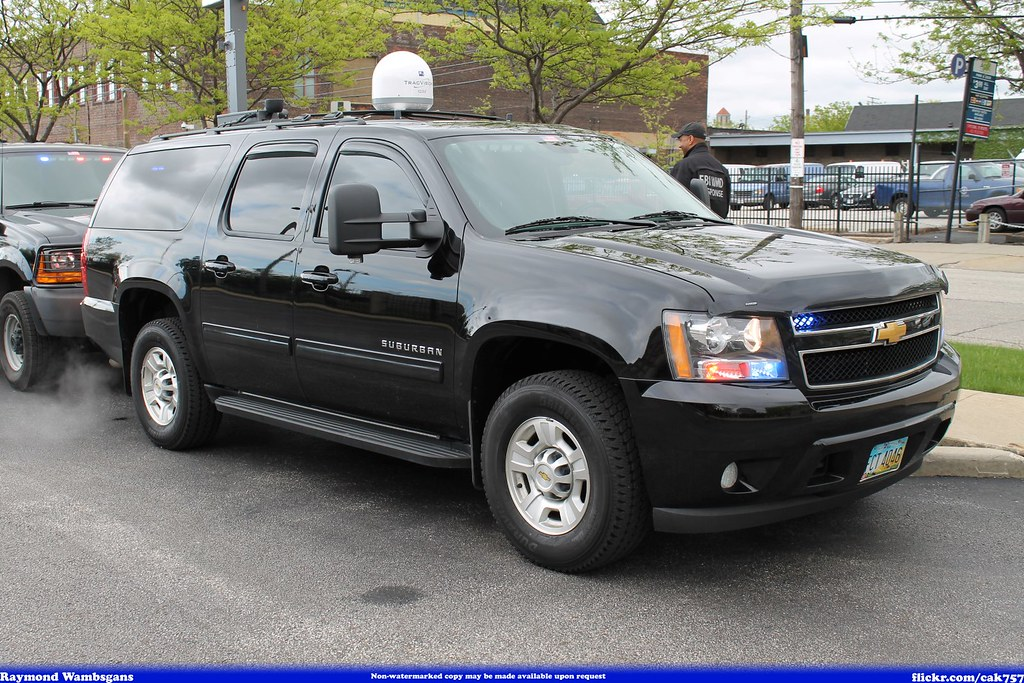 FBI Federal Bureau of Investigation Chevrolet Suburban ...