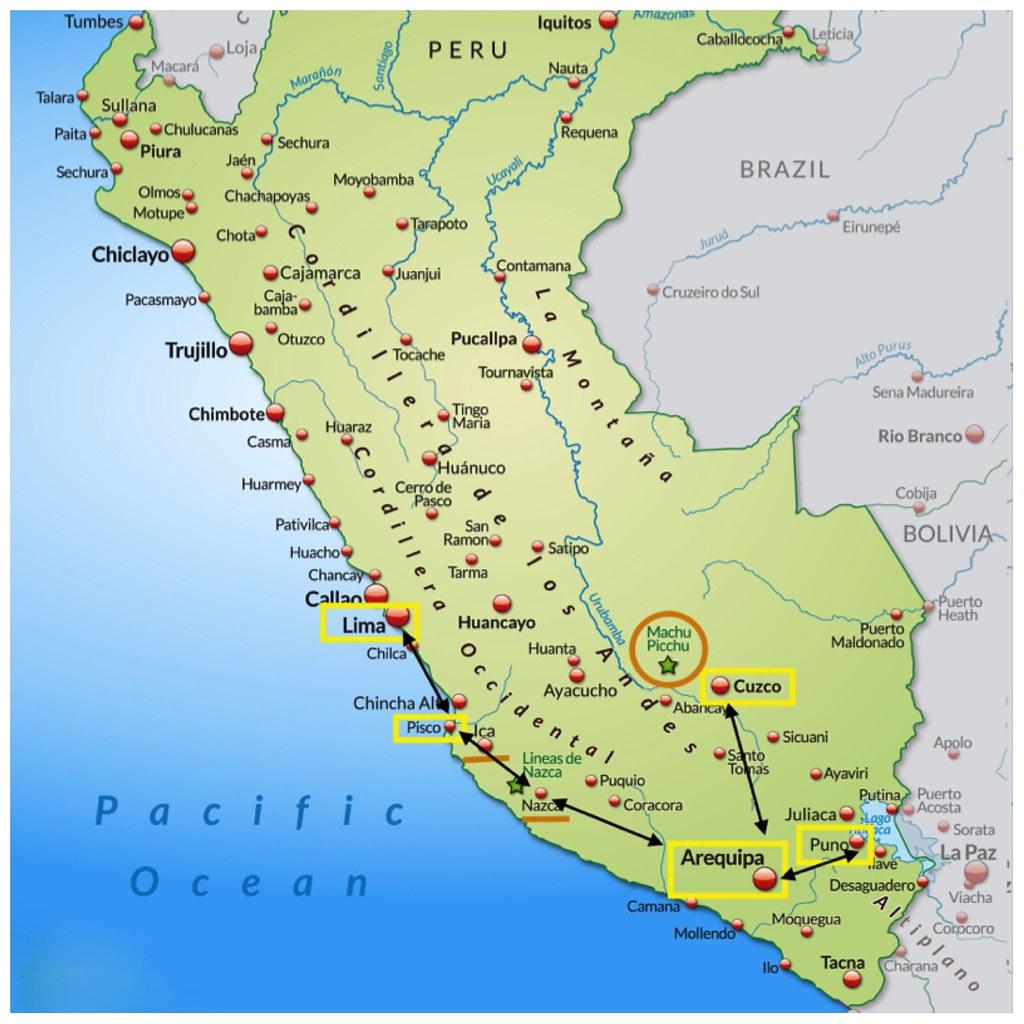 Perú en 3 semanas