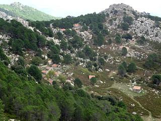 Bitalza depuis le sommet de Capellucciu