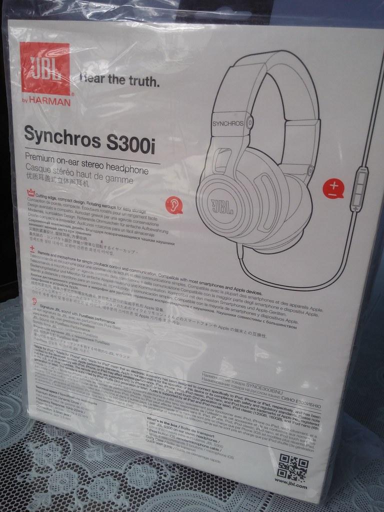 Quận 2 - Tai nghe JBL Synchros S300i xách tay mới 100% giá cực sốc ạ.. - 2