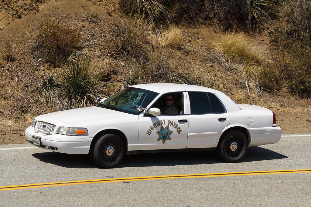 California Highway Patrol Ford Crown Vic Police Intercepto