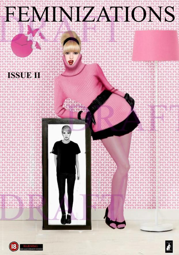 Transvestite forced feminization panties