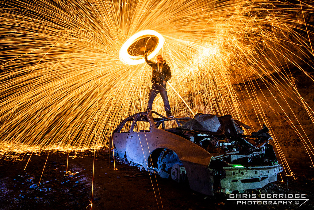 Steel wool spiral on top of the astra | Inside Tunnel 2 at G ...