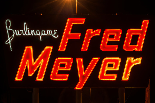 Burlingame Fred Meyer Portland Oregon By Curtis