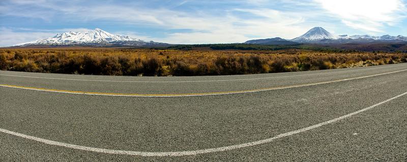 Mount Ngauruhoe & Mount Ruapehu