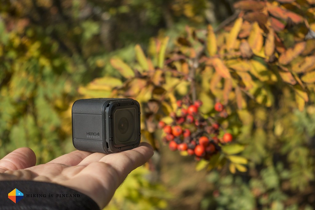 The tiny GoPro HERO4 Session likes the autumn