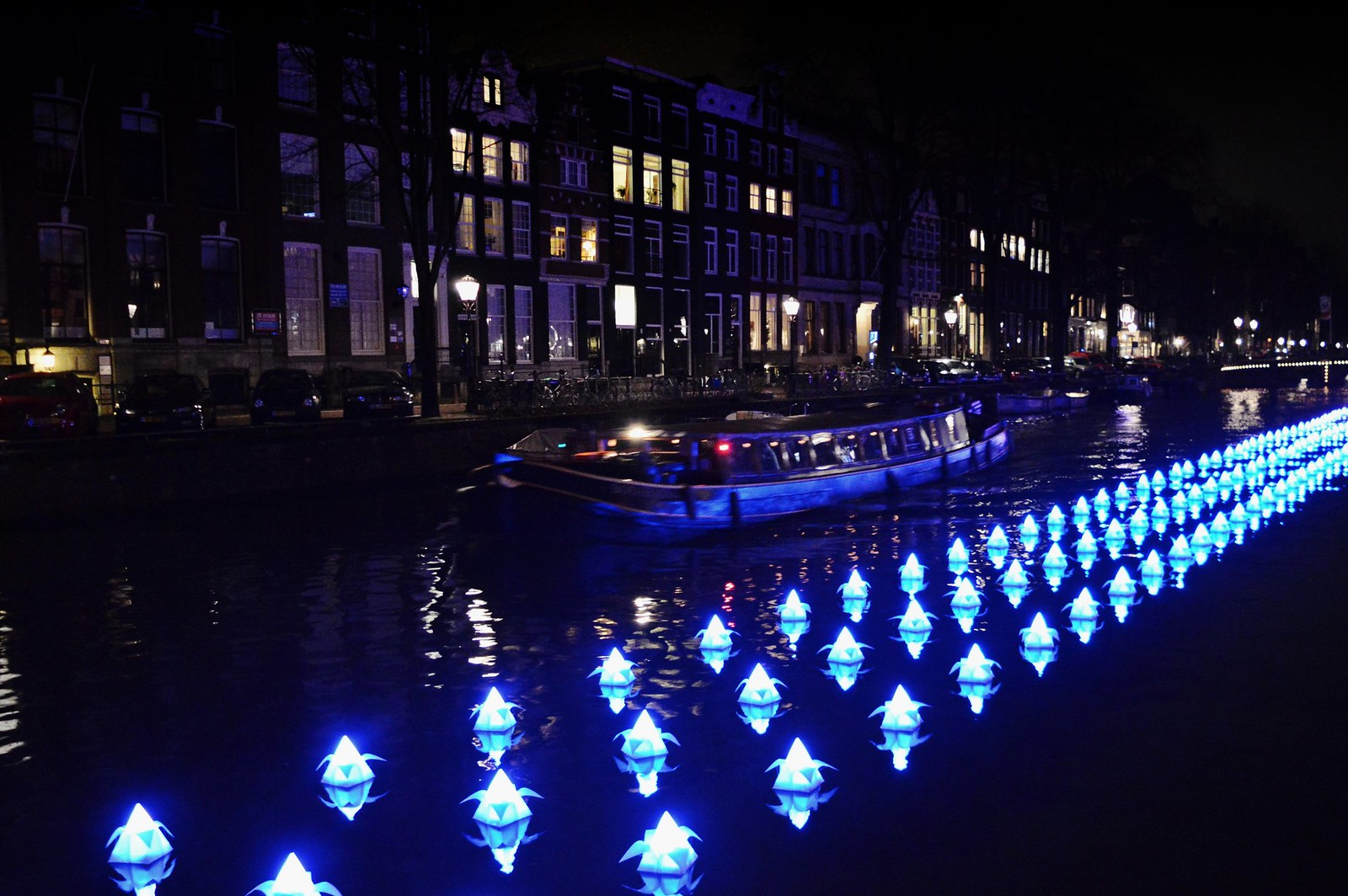Amsterdam Light Festival Boat Tour