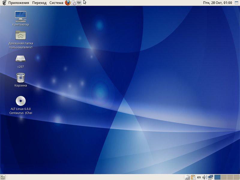 ALT Linux скриншоты