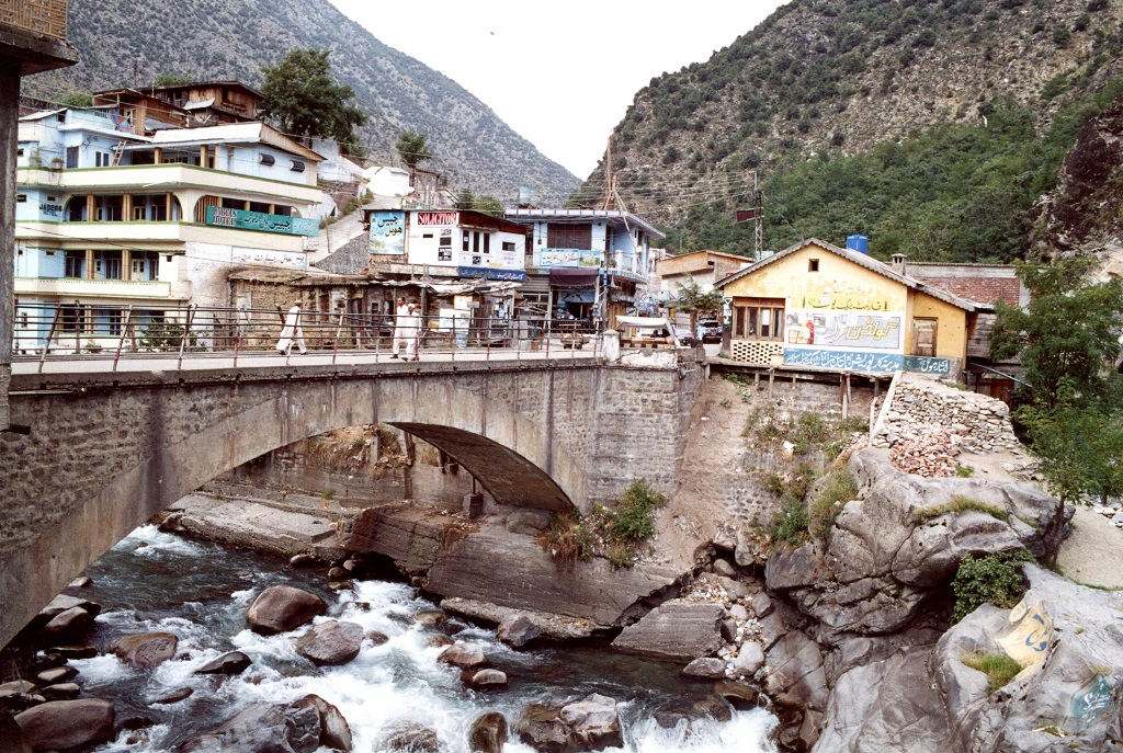 Bahrain Swat Valley Pakistan In Its Upper Reaches The