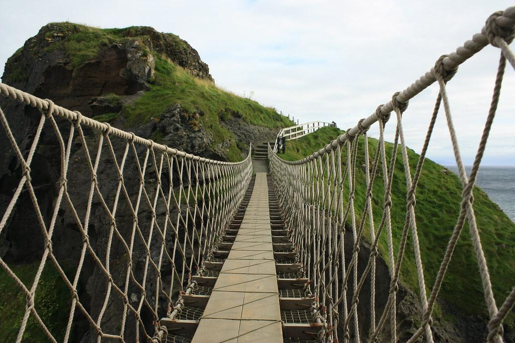 Carrick A Rede Rope Bridge Ballintoy Antrim La