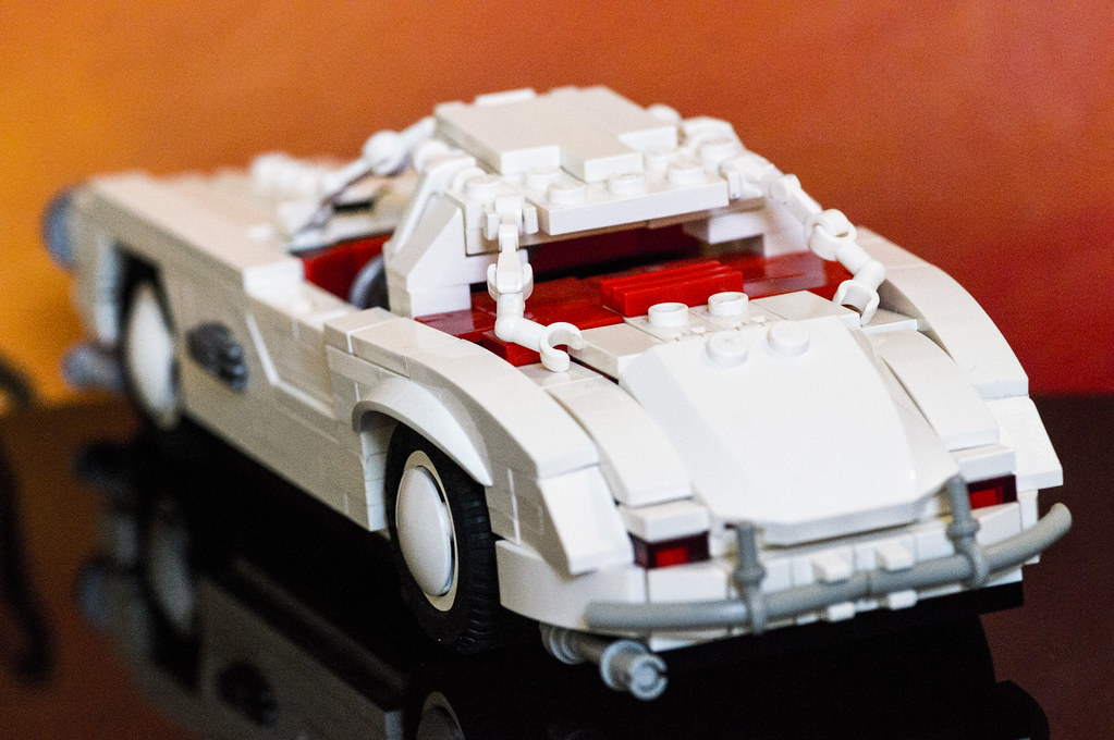 Lego Mercedes Benz 300 Sl What S Better Than Building A