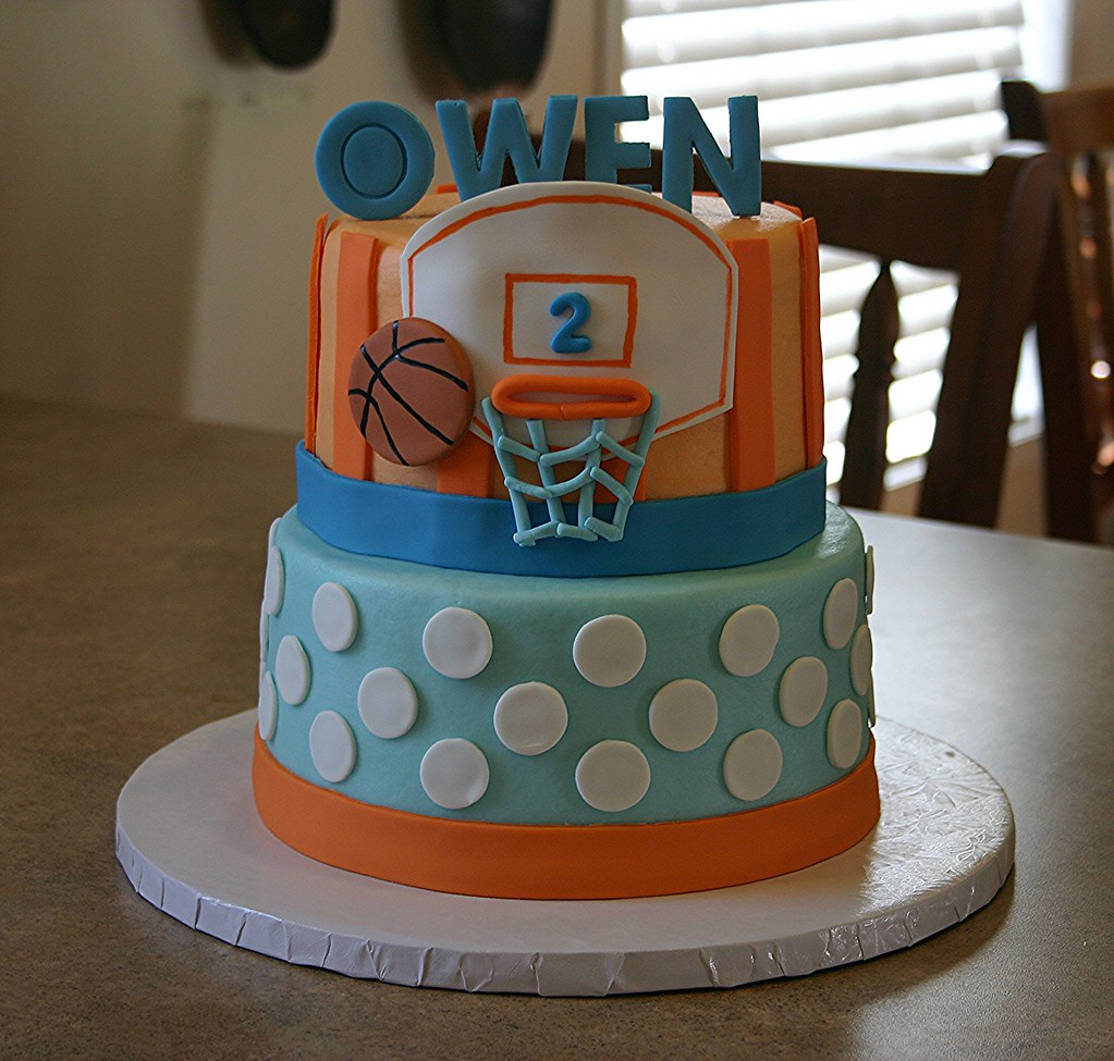 Basketball Birthday Cake Ideas