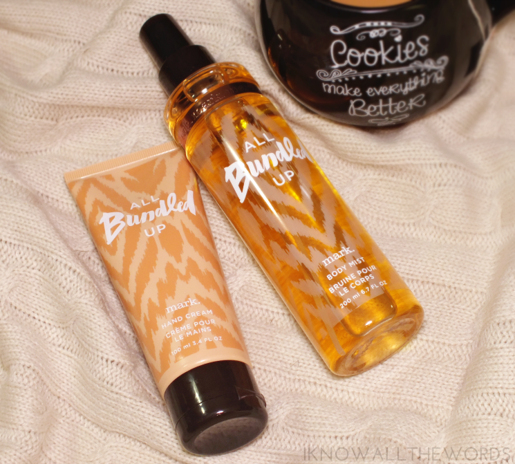 mark all bundles up hand cream body mist