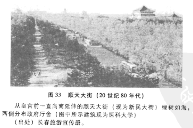 1980年代的长春新民大路