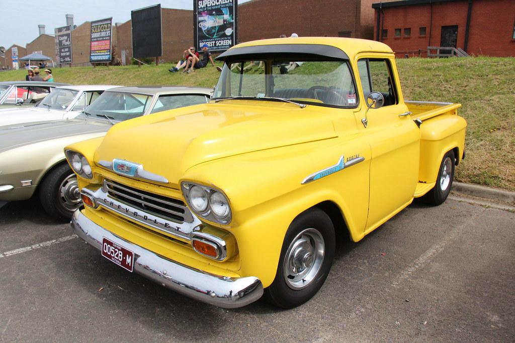 1958 Chevrolet Apache 31 Pickup The Chevrolet Motor