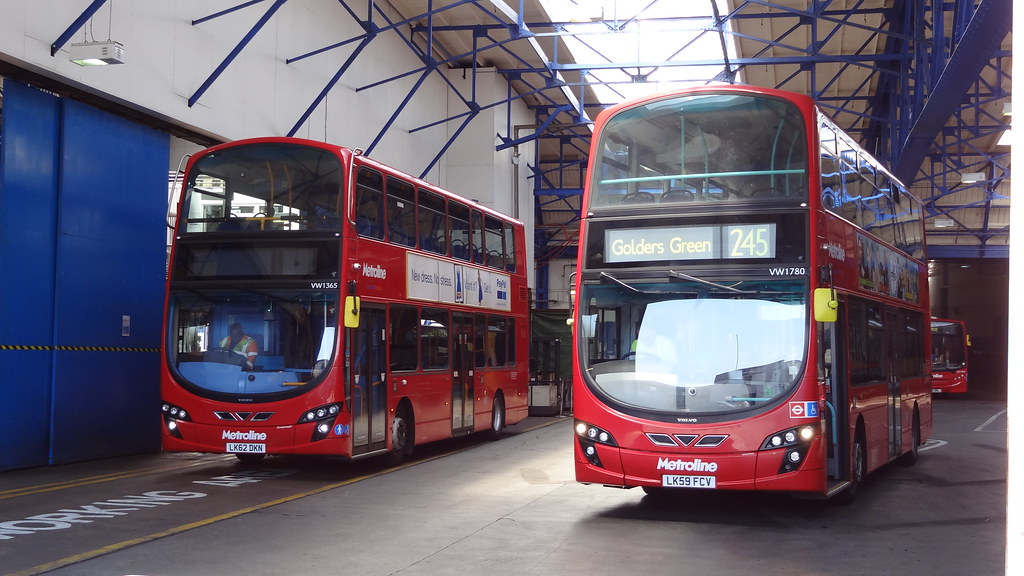 Alperton Bus Garage Alperton Bus Garage Is Operated By