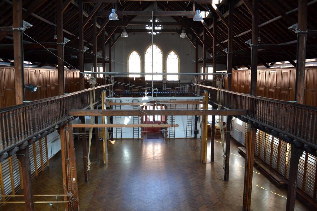 Turnzaal Rijksnormaalschool, Brugge | De voormalige ...