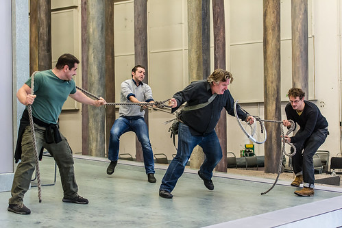 Simon O'Neill and the cast in rehearsals for Parsifal ©ROH/Clive Barda, 2013 | by Royal Opera House Covent Garden