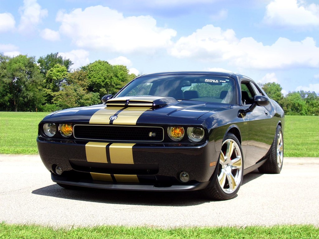 Dodge Challenger Convertible >> 2009 Hurst Challenger SRT8 | www.pinterest.com/pin/199354720… | Flickr