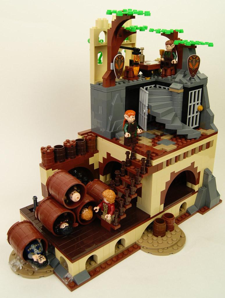 Lego Hobbit MOC - Modular Barrel Escape   A modular version …   Flickr