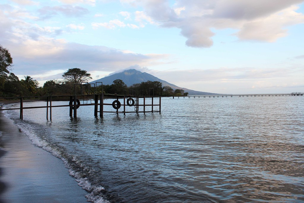 Image of Isla de Ometepe, Nicaragua featured in the money saving tips to Central America blog post