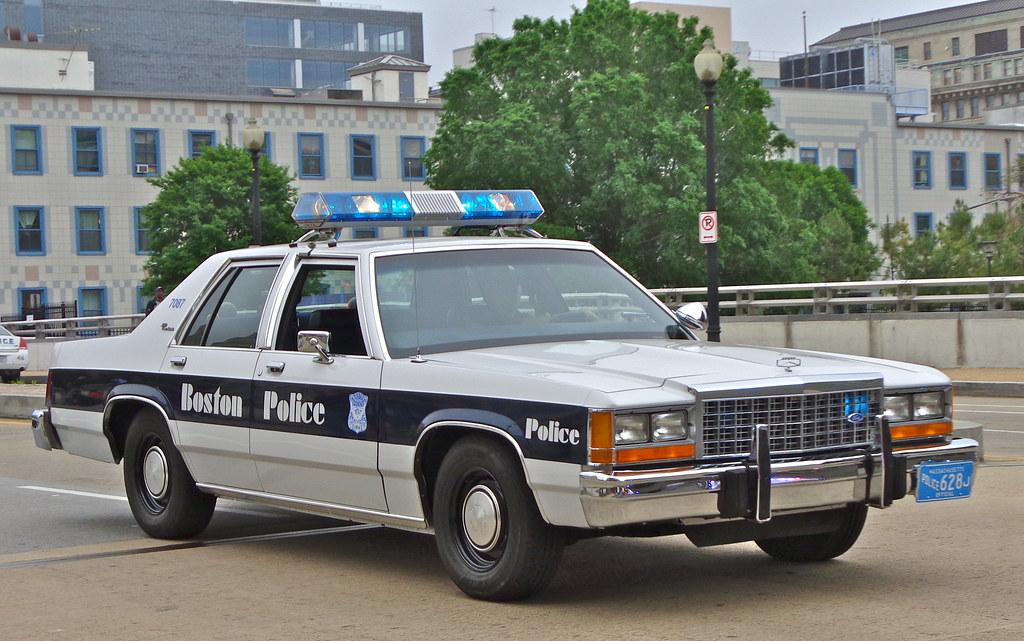 Old Photos of Boston Police vintage everyday