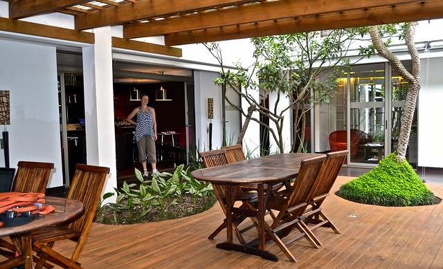 garden - La Inmaculada Hotel in Guatemala City