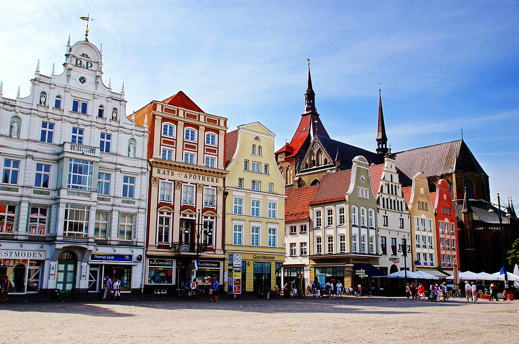 neuer markt new market square in rostock germany flickr. Black Bedroom Furniture Sets. Home Design Ideas