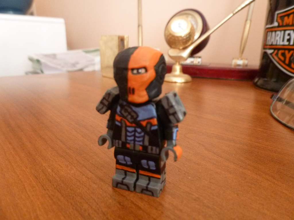 Lego Batman Arkham Origins Deathstroke | My first Upload ...