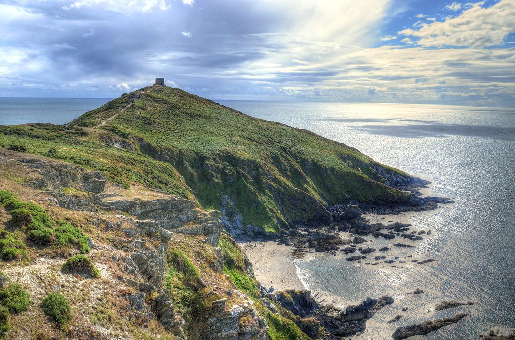 Rame Head Cornwall Rame Head Is Situated In The Far