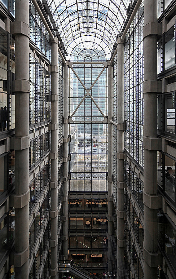 Lloyds of london david bank flickr for Lloyds architecture planning interiors