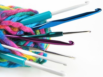 YARN WITH CROCHET HOOKS by The Crochet Hooker