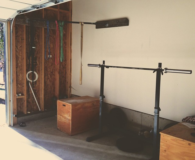 Garage gym a few years in the making finally complete