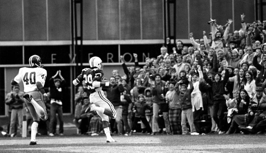 Harrison B. Wilson III '77 | Dartmouth football's #29 ...