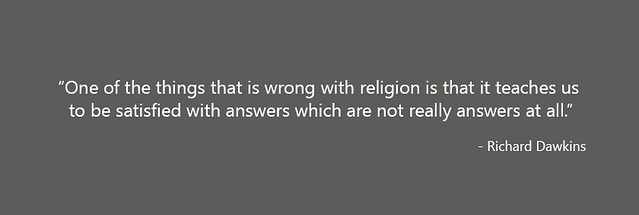 Richard Dawkins quote on religion