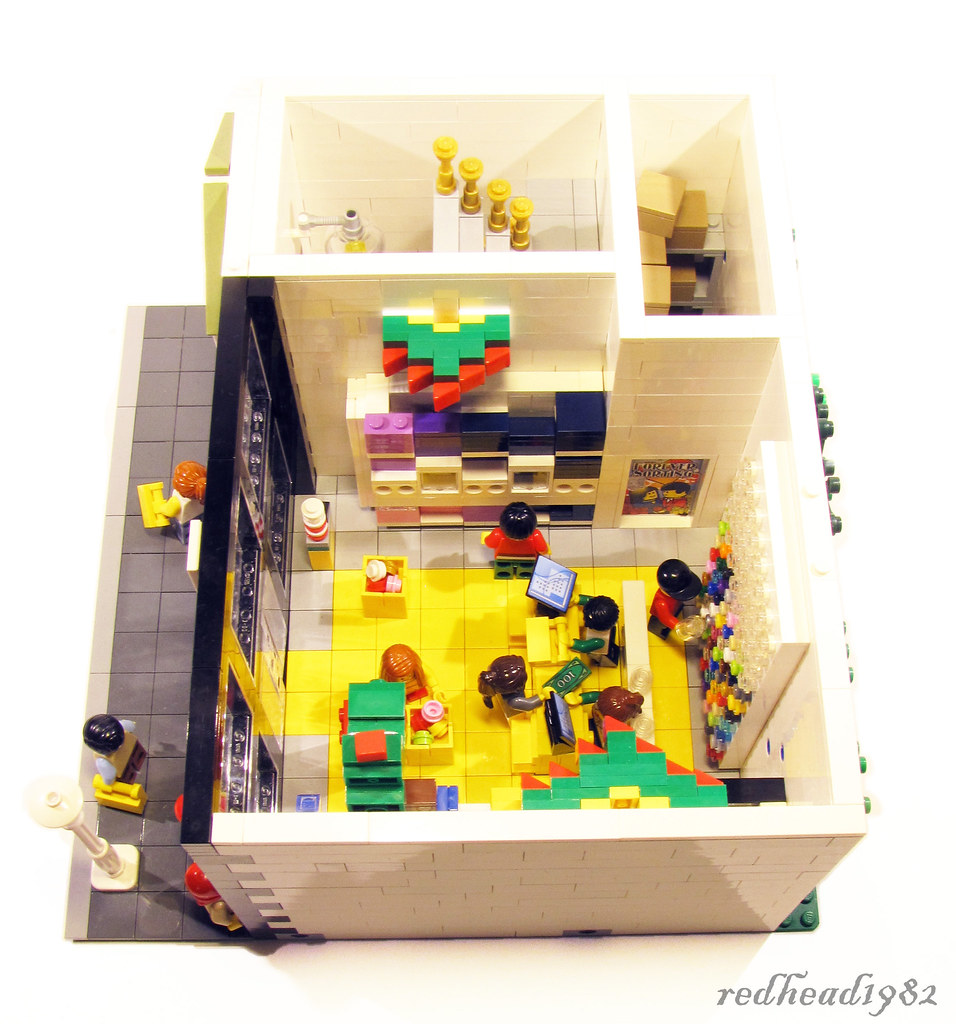 Modular Lego Store And Appartment Inspired By The Lego Bra Flickr