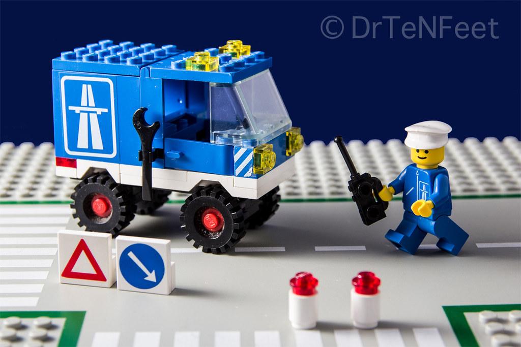 LEGO # 6653 - highway maintenance truck   LEGO classic ...