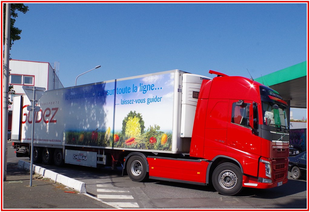 Volvo New Fh500 Globetrotter Transports Guidez Monchy Le