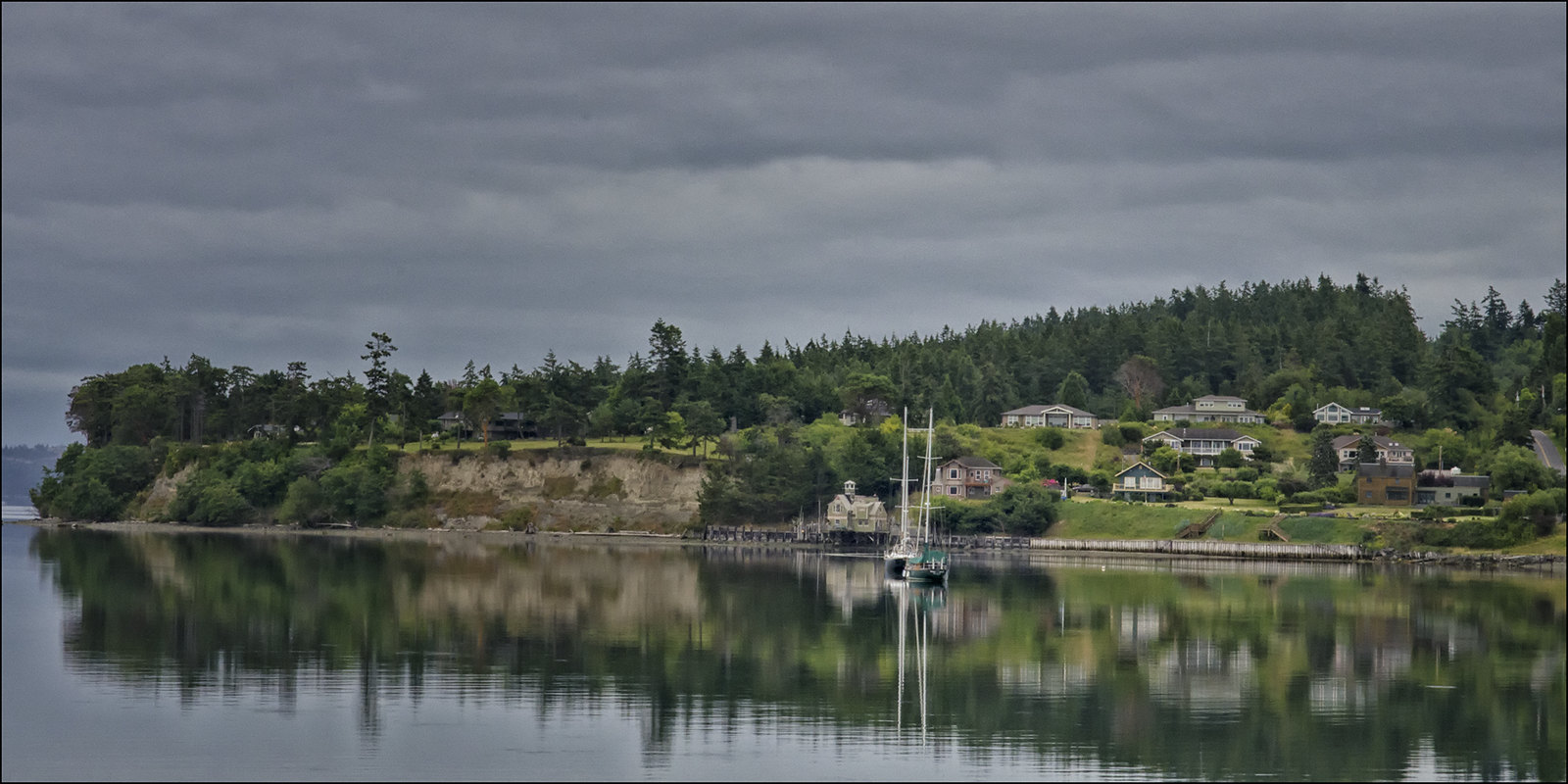 View From the Coupeville Town Dock