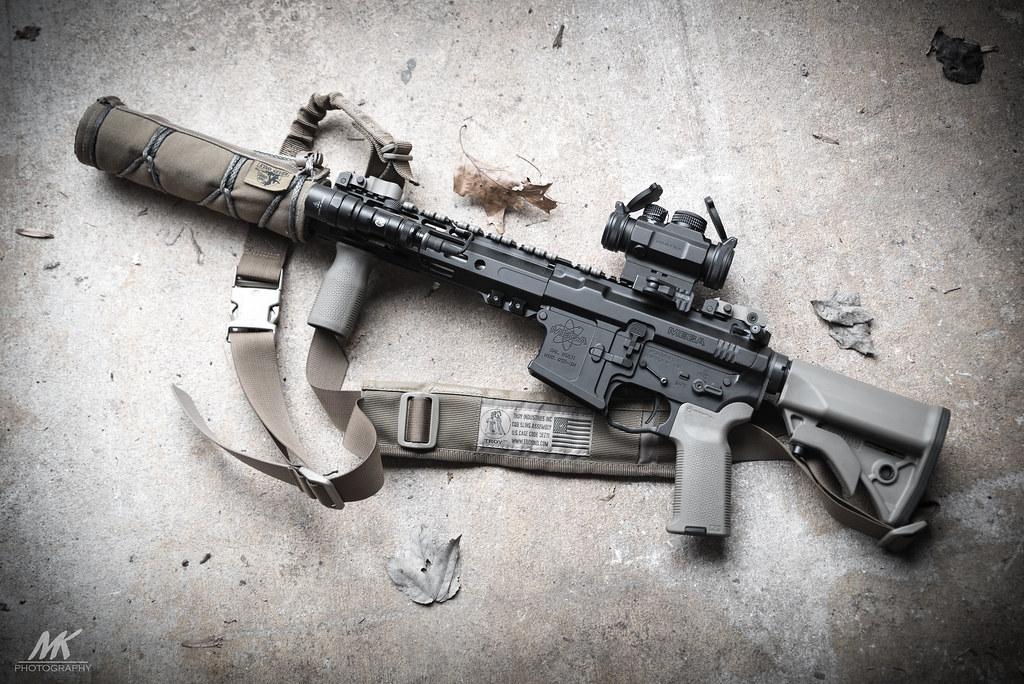 Mega Arms .300 Blackout Suppressed SBR