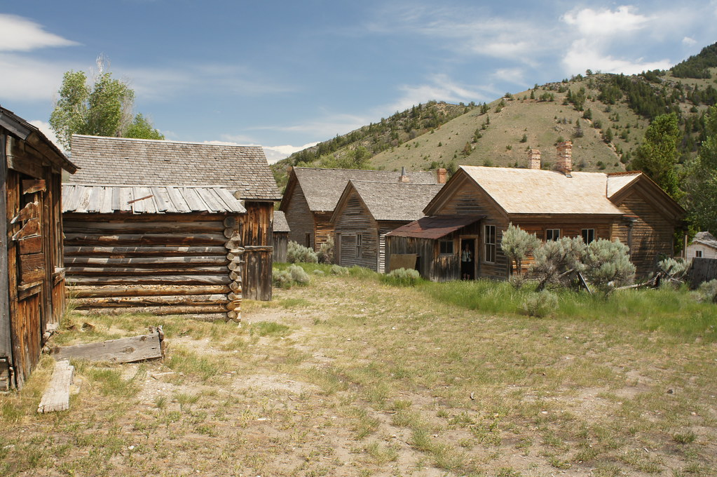 Bannack State Park Very Cool Ghost Town Of Bannack Montan Flickr