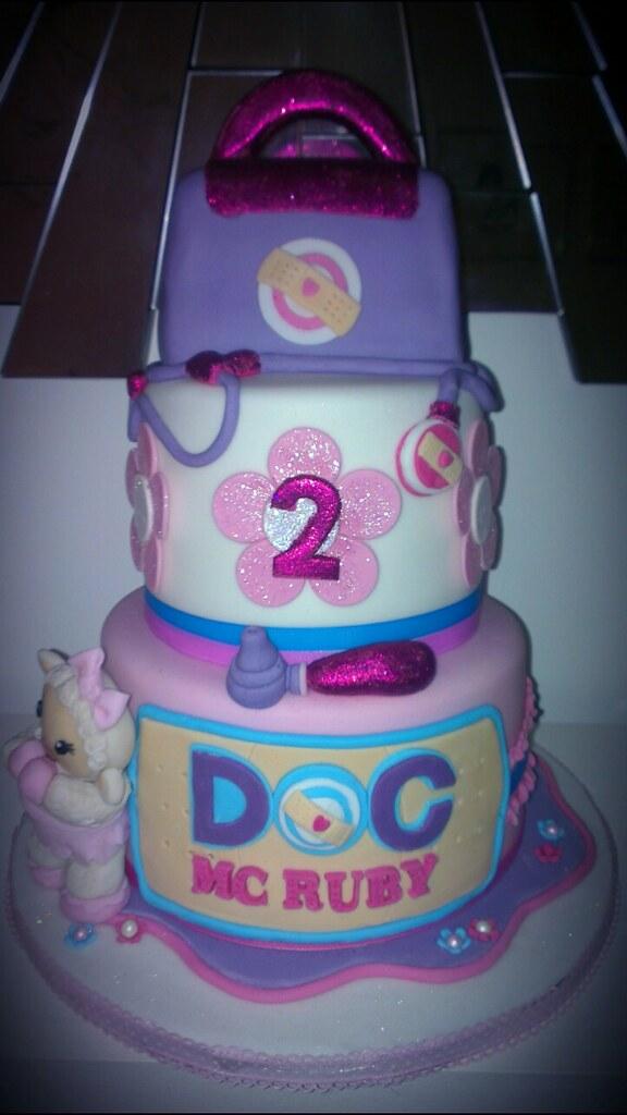 Doc Mcstuffins Party Cake