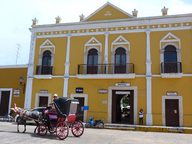Izamal, pueblo mágico del Yucatán (México)