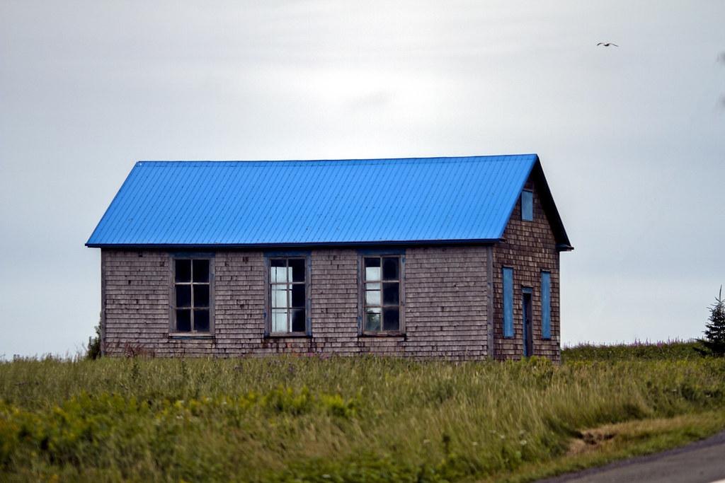 The blue house photo la maison bleue perc gasp sie flickr - Maison bleue mobel ...