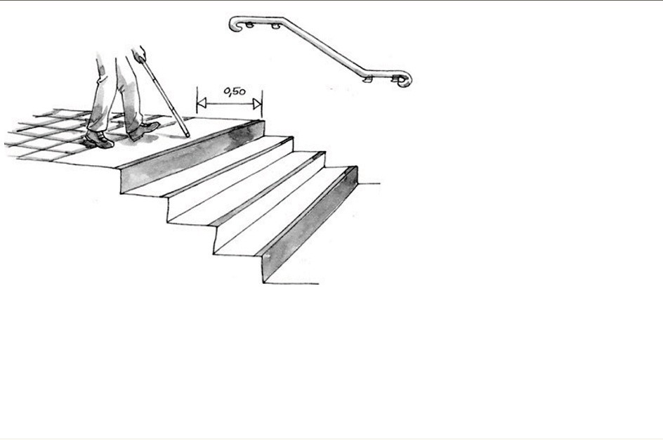 norme handicaper l 39 escalier exterrieur 1